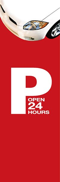 【CAR060】P OPEN 24 HOURS